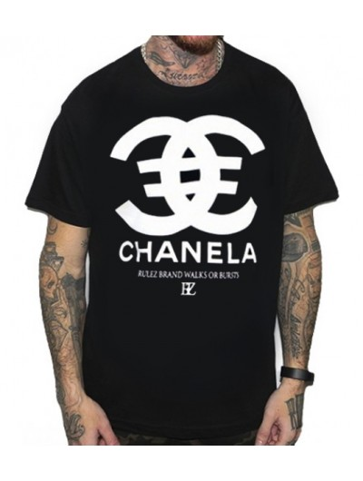 Camiseta Rulez Chanela Negra
