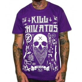 Camiseta Rulez kill Chivatos New Malva