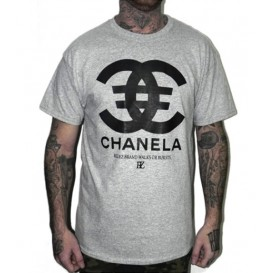 Camiseta Rulez Chanela Gris