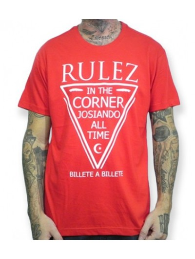 Camiseta Rulez Billete a Billete Roja
