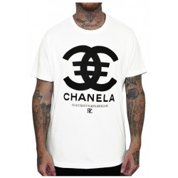 Camiseta Rulez Chanela Blanca