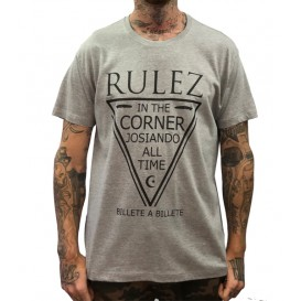 Camiseta Rulez Billete a Billete Gris