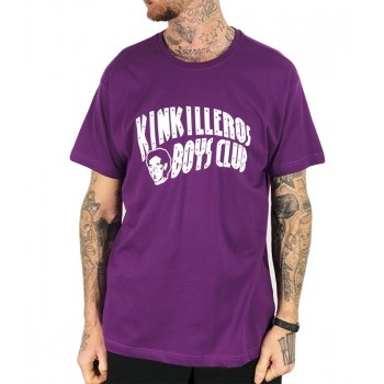 Camiseta Rulez Kinkilleros Boys Club lila