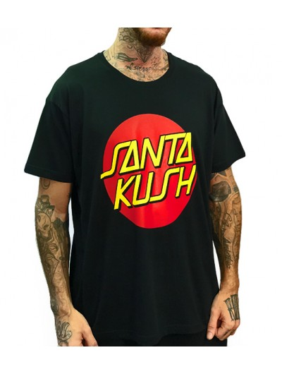 Camiseta Rulez Santa Kush x Pretty Chocobo