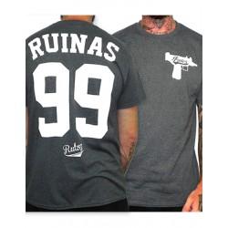 Camiseta Rulez 99 Ruinas Antracita