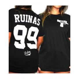 Camiseta Rulez 99 Ruinas Negra