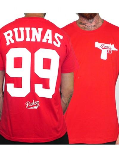 Camiseta Rulez 99 Ruinas Roja