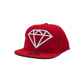 Gorra Diamond Roja Basic