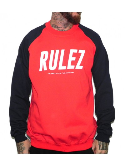 Sudadera Rulez The first in the fucking game