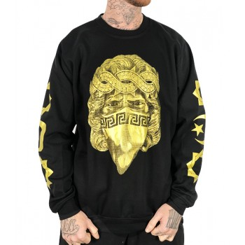 Sudadera Rulez & Long Play Camaron Oro